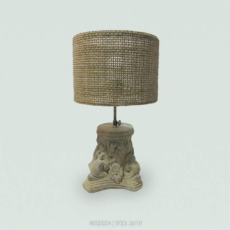 Sitting Lamp Lathvia